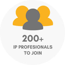 200+ IP professionals to join